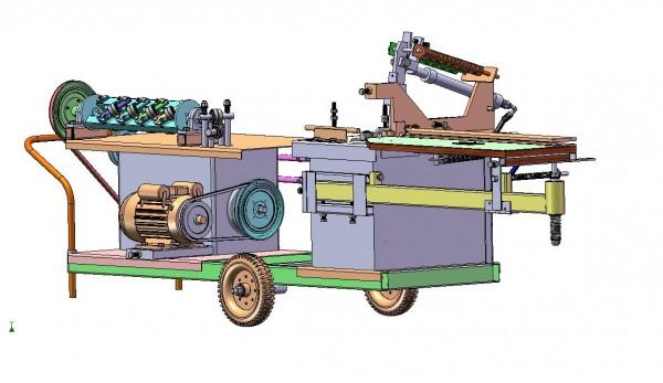 Máy bẻ đai sắt tự động