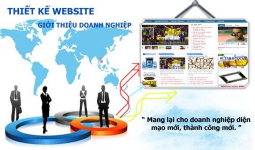 Công ty thiết kế web quảng bá doanh nghiệp hiệu quả trên internet