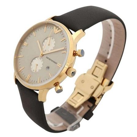 Đồng hồ Emporio Armani dây da thời trang